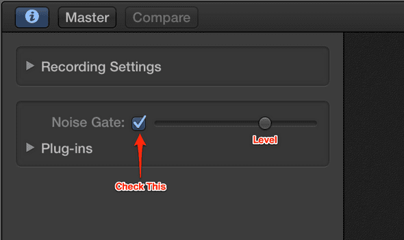 How to Add a Noise Gate in GarageBand 10 | A Blog